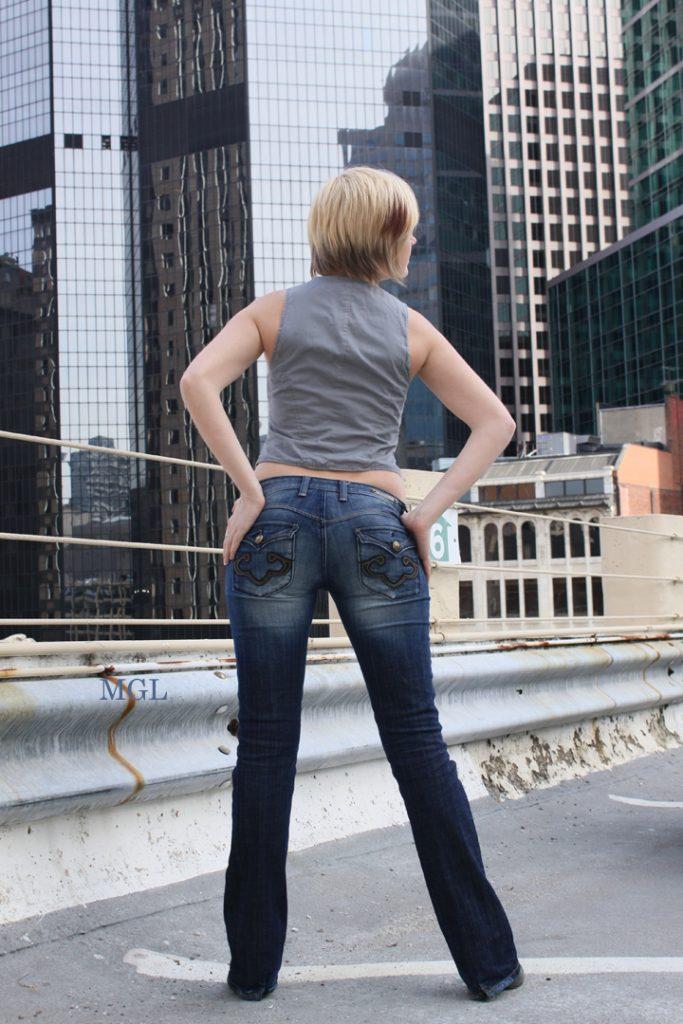 Skinny Jeans Modeling